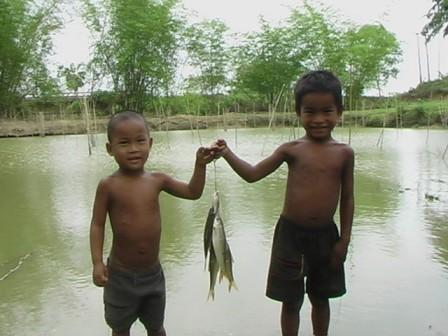 Children's interest in fish culture is enormous. Fish culture is proving to be an attractive activity.