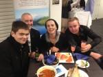 HVTTC Cert II Aqua students, Alister Smythe, Steve Harrison (Trainer), Emm Kelly, Jamie Bennett