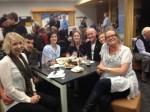 Huon Aquaculture crew. Laura Bender, Boz Shield, Regina Kantar, Ali Stebbing, Steve Harrison (HVTTC)