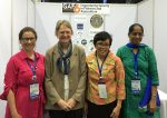 GAF organizers, from left: Drs Hillary Egna, Meryl Williams, Amonrat Sermwatanakul, and Nikita Gopal