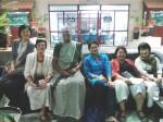Dr. Kyoko Kusakabe (Thailand), Marilyn Porter (Canada), Nalini Nayak (India), Bibha Kumari (India), Dr. Katia Frangoudes (France), Sun-ae li (Japan). GAF5.