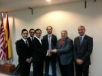Signing of MoU - Abraham Melai, Khairuddin, Adenan, Jackman, Palmer, Lionel Ho