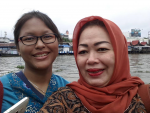 Trip to Banjarmasin with youngest daughter, December 2015