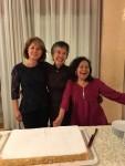 Gabriella Bianchi, Sachiko Tsuji, Doris - retirement from FAO